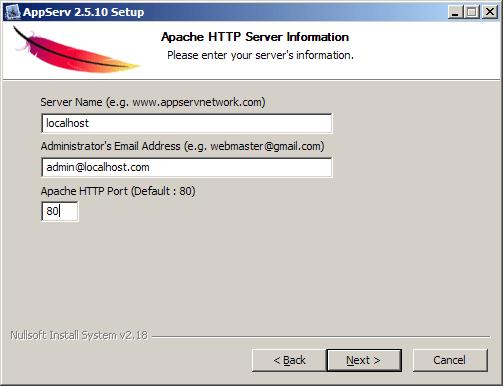 รูปที่5 Server Information