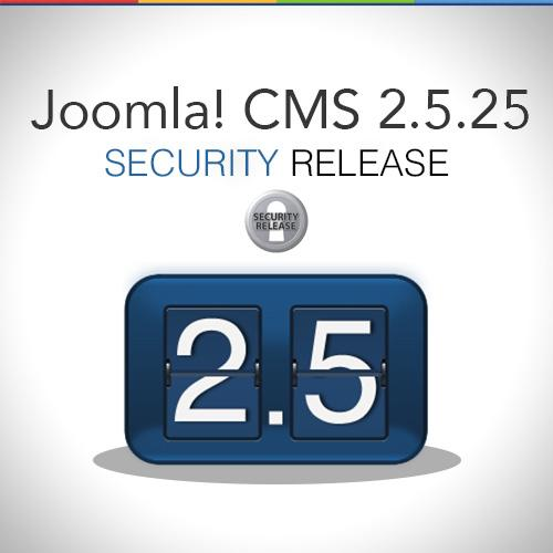 Joomla 2.4.25 Security released