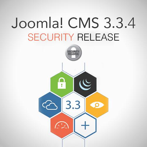 Joomla 3.3.4 Security Released