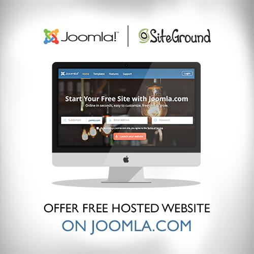 joomla-offers-free-hosted-website-solution
