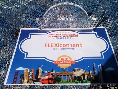 FLEXIcontent Best Innovation Award