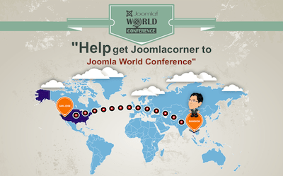 Help get Krit to Joomla World Conference