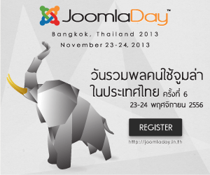 Click to JoomlaDay Bangkok 2013