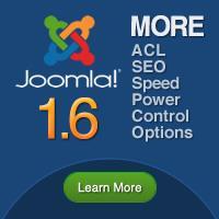 Joomla 1.6 information