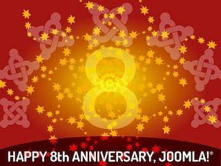 happy 8th anniversary joomla image by @Helvecio